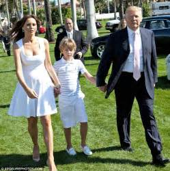 Ambassador Dining Room by Donald Trump Steps Out With His Mini Me Son Barron At