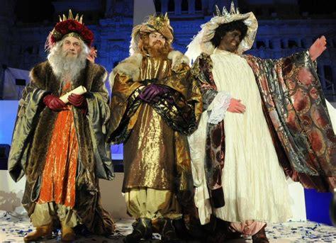imágenes de los reyes magos de oriente cabalgata reyes 2017 viajar a madrid