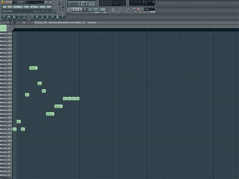 tutorial fl studio piano roll glitch sequence in piano roll how to make electronic music