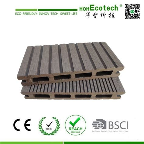 outdoor wood plastic flooring hoh ecotech wpc