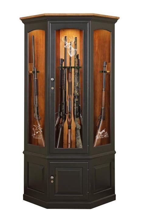 glass gun cabinets for sale custom wooden corner gun cabinet