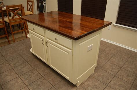 black walnut kitchen island countertop by wunderaa