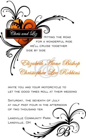 97 Best Images About Harley Wedding Ideas On Pinterest Wedding Harley Davidson Wedding Rings Harley Davidson Invitations Templates