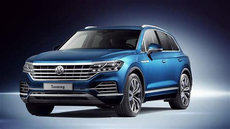 touareg volkswagen price 2018 volkswagen touareg revealed