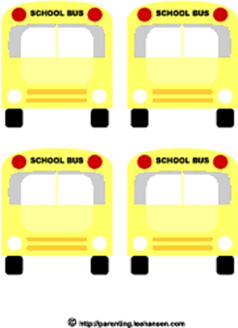 printable bus tags kindergarten chrissie s coupons deals back to school printables for