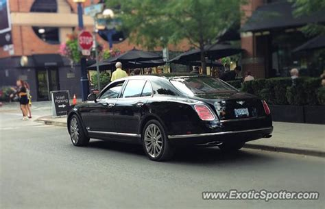 bentley canada bentley mulsanne spotted in toronto canada on 08 06 2015
