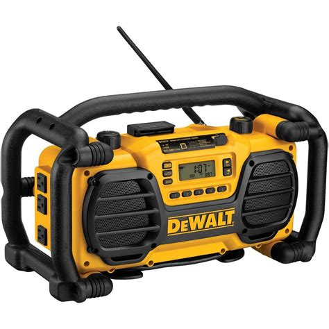 dewalt 7 2 volt 18 volt heavy duty worksite radio charger