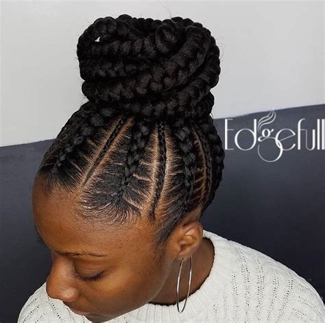receding hairline with braids thinning hairline cover up with edgefull natural