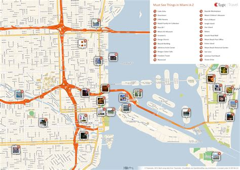 miami map lincoln road mall miami tripomatic