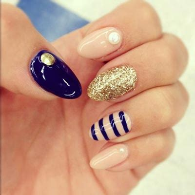 one finger nail different color pictures 20 coolest striped striped nail art designs and ideas