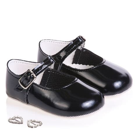 Prewalker Black Kets early days black pre walker shoes childrensalon
