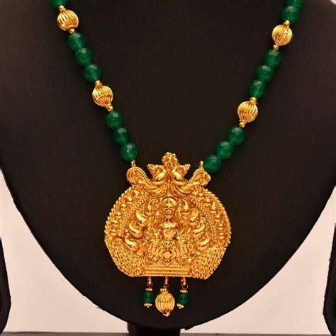 gold shop on line buy anvi s lakshmi temple jewellery pendent with