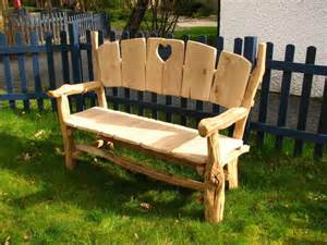 Wooden Storage Bench Seat Indoors Oak Heart Garden Park Bench Benches All Products