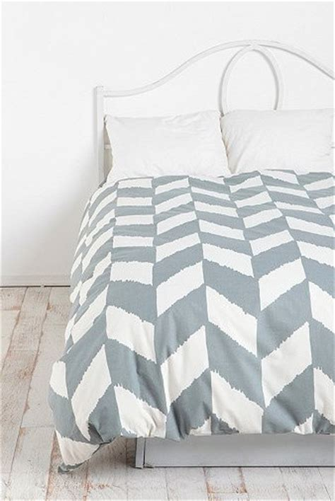 herringbone bedding herringbone duvet cover grey contemporary duvet