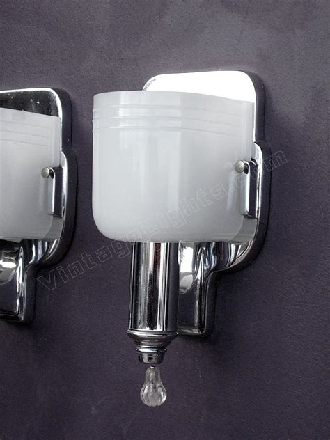 Bathroom Light Sconces Fixtures by Vintage Chrome Bathroom Sconces Antique Chrome Bath Fixtures