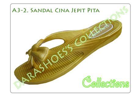 Sandal Kepang Kokop Hitam Ps Sepatu Murah sepatu bayi dara shoes collection