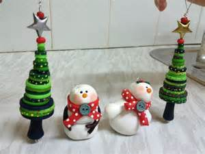 cute polymer clay christmas ornaments polymer me