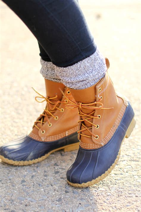 llbean boots how to wear ll bean duck boots beans clothes and bean boots