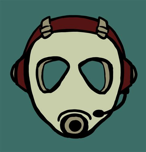 gasmask gamer logo by jessicakdesign on deviantart