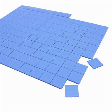 30x30x05mm Thermal Pad Cooling Silicone For Cpu Heatsink 220 100 pcs high quality thermal pad gpu cpu heatsink cooling conductive silicone pad 10mm 10mm 1mm