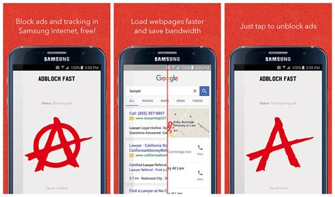 adblocker android samsung browser compatibile con app adblocker androidworld