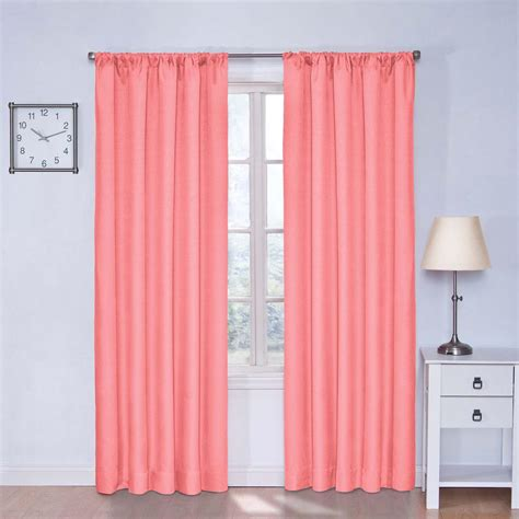 Pink Eclipse Curtains Theater Room Blackout Curtains Curtains Drapes Compare Prices At Nextag