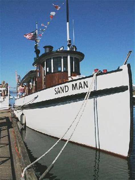 tugboat landing the tugboat quot sandman quot at percival landing picture of