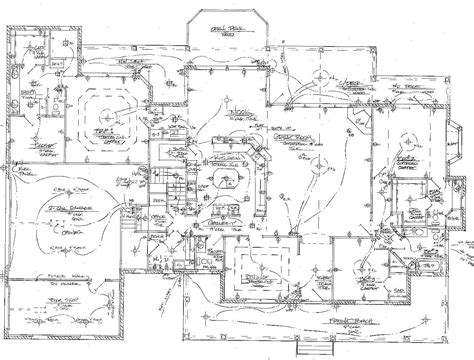 house wiring plans floor plan electrical diagram house