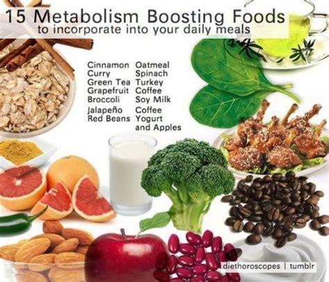 metabolic food metabolism boosting foods