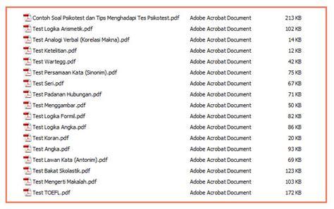 psikotes gambar contoh soal tes psikotes download soal download soal tes psikologi tni