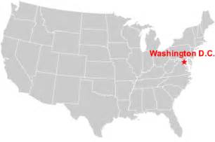 usa map dc washington dc map usa my