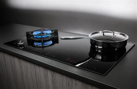 Induction And Gas Cooktop Combination Asko Appliances Elements By Asko