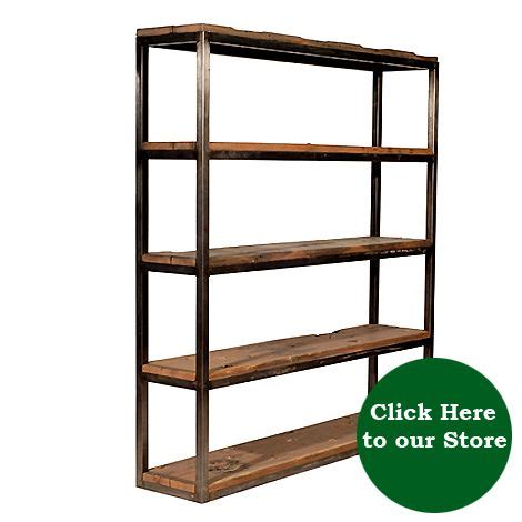 metal wood bookshelf 12 best industrial bookcase images on