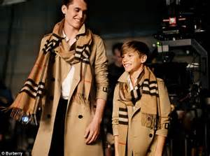 celebrity appearance meaning inside romeo beckham s burberry ad and behind the scenes