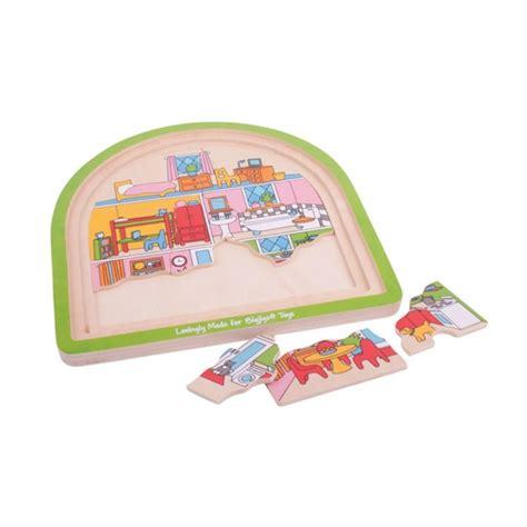 giochi di cucina a livelli puzzle a 3 livelli le stanze di casa puzzle di legno