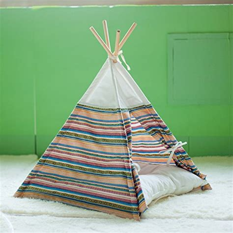 teepee bed spiffy pet products fun cat teepee bed playhouse ideas