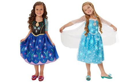 frozen light up dress disney frozen light up dresses groupon goods