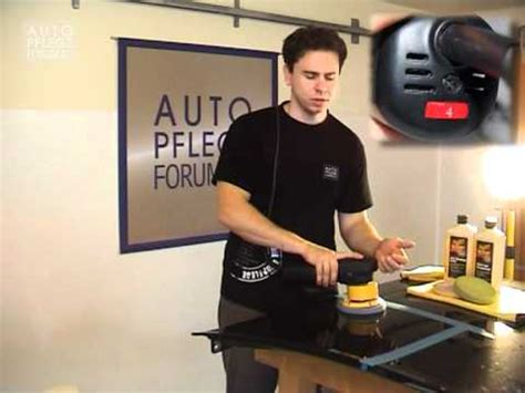 Granit Polieren Youtube by Polieren Mit Der Exzenter Poliermaschine So Geht S 2