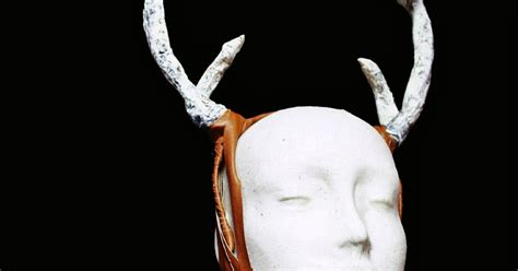 How To Make Deer Antlers Out Of Paper - the crafty how to make antlers