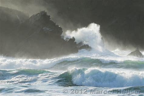 Crashing On The by Marcel Huijser Photography Ireland Waves Crashing Into
