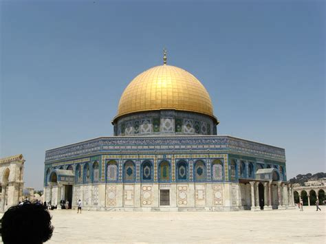 Dome For dome of the rock temple mount jpg