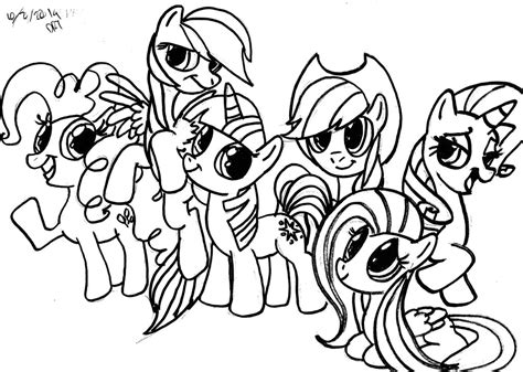 My Little Pony Friendship Is Magic Applejack Coloring Bookll