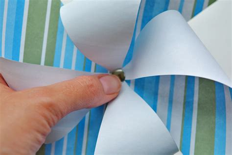 Make Pinwheels Out Paper - how to make paper pinwheels