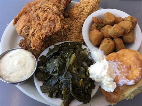A Soul Food by A Soul Food Platter In South New Times