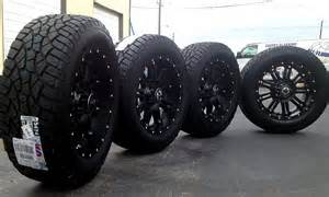 20 quot black wheels tires dodge truck ram 1500 20x9