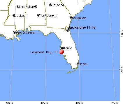 longboat key florida fl 34228 profile population maps
