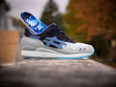 Asics Gel Lyte Iii Grey Light Blue asics gel lyte iii light grey captain blue sole