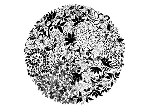 flower collage coloring page icolor quot asymmetrical quot 736 215 542 icolor quot asymmetrical