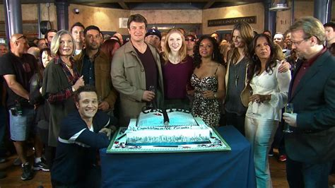 Castle Celebrates 100 Episodes 4 Facts About The Show Cast Of The With The