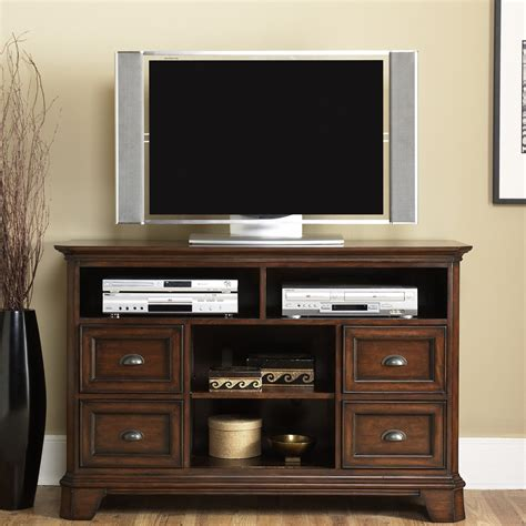 bedroom media cabinet furniture brown stained wood height media cabinet with